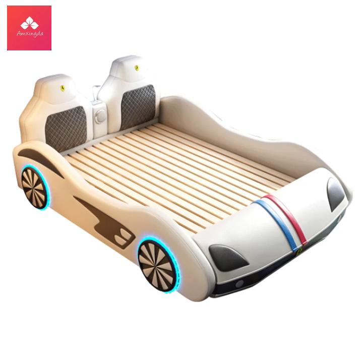 Auto Design Fashions Kid Slaapkamer Meubels Meisje Jongen Kinderen Houten Bed