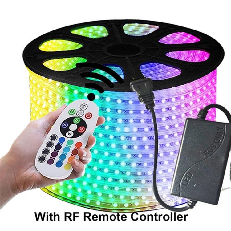 China product price list 3528 2835 5050 150led 300led ce rohs rgb 3014 led light strip 5050 220v