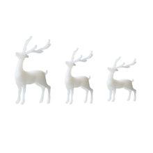 6 шт 3D украшения для дома, украшения для дома, трехмерные лесные аксессуары для микропейзажа (белый случайный стиль)(Китай)