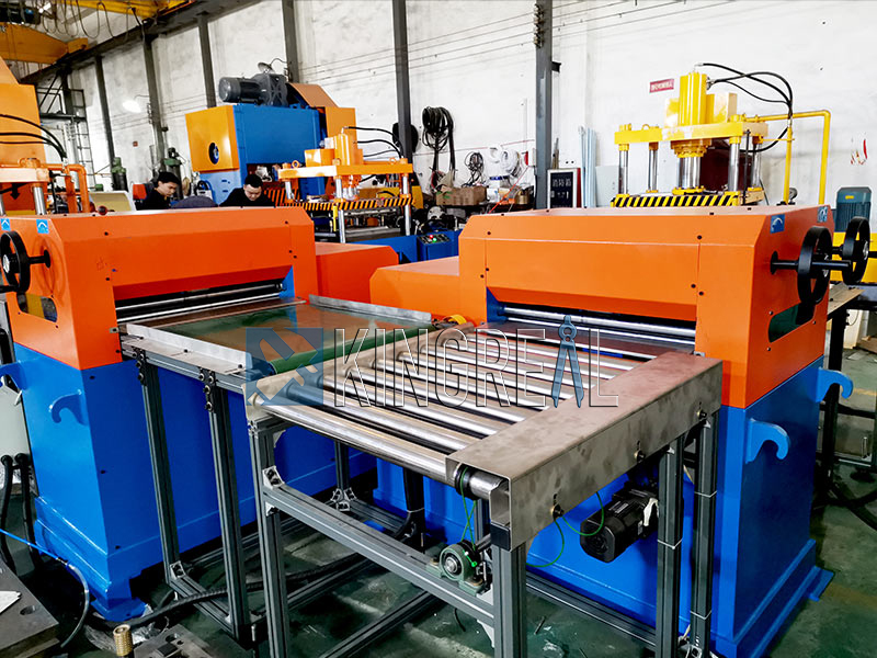 metal ceiling panel making machine production line