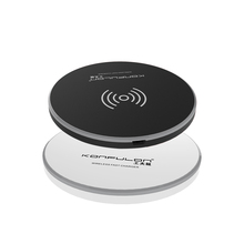 Konfulon 10W Draadloze Oplader Met Lamp Licht Fast Charging <span class=keywords><strong>Powermat</strong></span> 5W 7.5W 10W Compatibel Voor <span class=keywords><strong>Iphone</strong></span> samsung Huawei