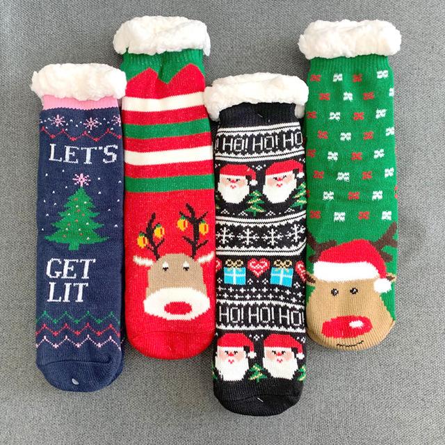 crew men long sock shoes baby dog cozy novelty decoration cute luxury christmas socks