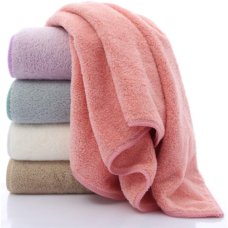High quality water absorbent soft reusable skin friendly comfortable fast dry breathable microfiber baby towel