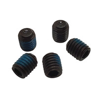 M1.6 M2 M2.5 M3 Steel black oxide Thread locking Set Screw