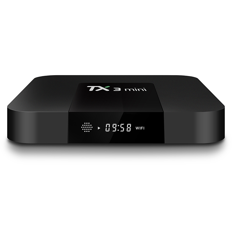 Più economico android tv box Tanix tx3mini Amlogic s905w 2GB 16GB abbonamento iptv mini tv box tx3mini