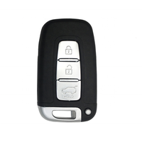 Keyless 3 Buttons Remote Smart Car Key Shell Fob Cover Case For Hyundai IX35 Keys