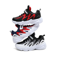 2019 Waterproof Leather Childrens' Shoes High Quality Kids Sports Shoes Platform Girls Boys Sneakers