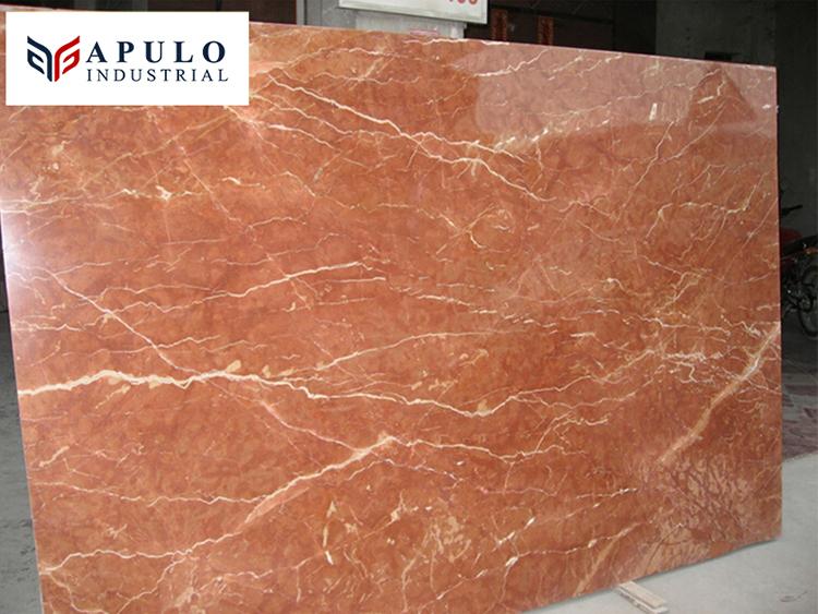 Marbre rouge corail rouge italien naturel carreaux de sol en marbre