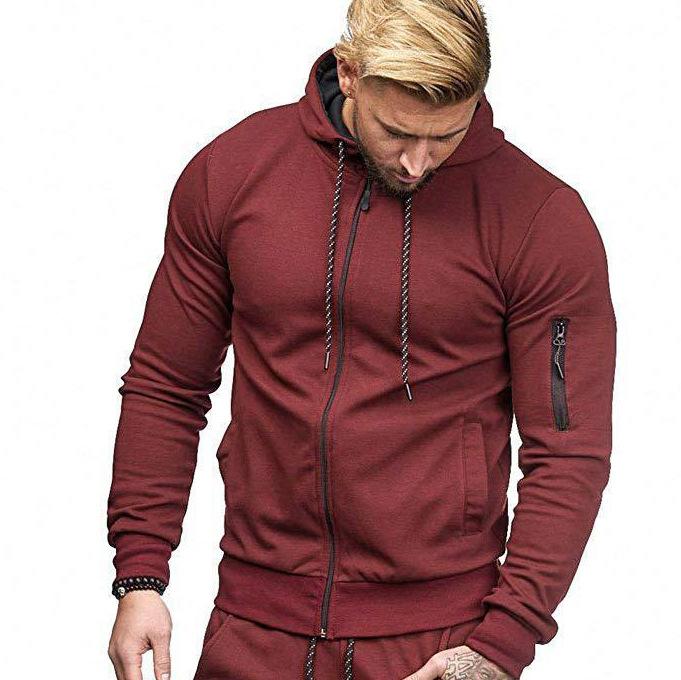Sports cardigan hoodie jacket
