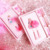 Creative INS Wind Notepad Office With Student Stationery Girl Heart Dream Girl Lovely Pink Notebook Set