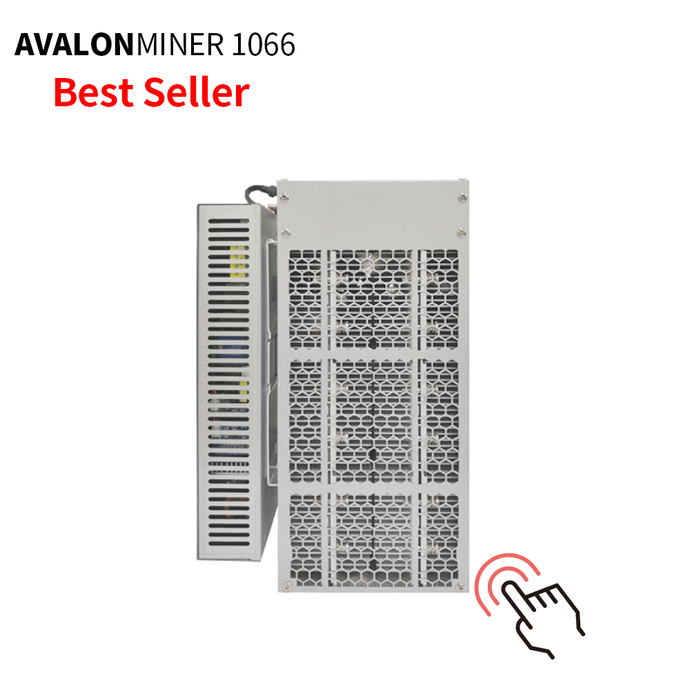 Stock miner AvalonMiner 1066 50TH/s 3250W ASIC Chip