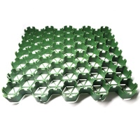 Grass grid/ grass protection paver black / green HDPE Gravel grid