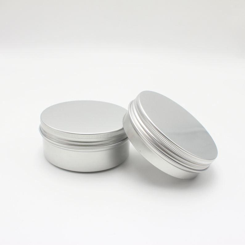50ml 80ml 100ml 120ml 180ml 500ml aluminum candle tin AJ-164C