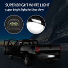 LED License Plate Light Assembly,36pcs LED 6500K White for Chevy Silverado 1500 2500 3500 GMC Sierra Suburban,Pack of 2