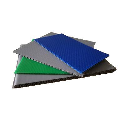Résistance à l'humidité et à la Corrosion Durable | Feuille de Pp ondulée de haute qualité en plastique