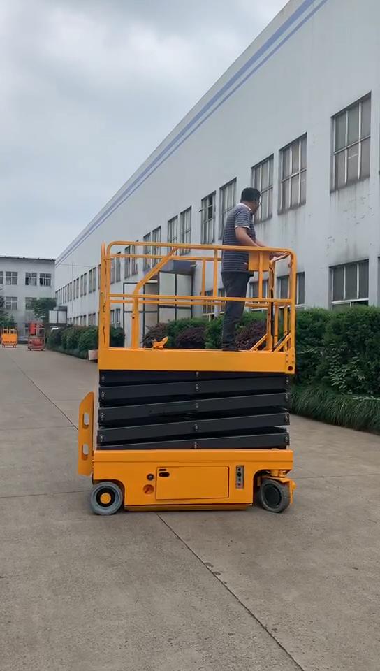 CE proved 300kg Electric Self Propelled Aerial Work Platform Scissor Lift Tables