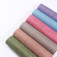 Wholesale high quality colorful linen gauze floral flower wrapping paper for flower bouquet