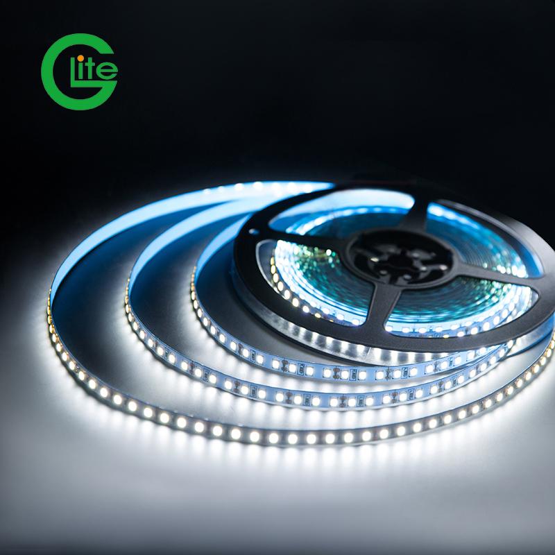 Glite Waterproof Dc12v 120leds/m Usb 5v 2835 Rgb60 Strip Light Backlit Led With Lens
