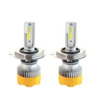 Popnow A8 high quality h8 h3 h7 h4 new Powerful best mini car lights C6 led headlight