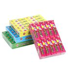 halal fruit flavor stick tattoo europe chewing gum factory