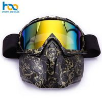 Oem Factory Wholesale New Stylish Tpu Frame Snowmobile Snow Sports Sunglasses Skiing Googles