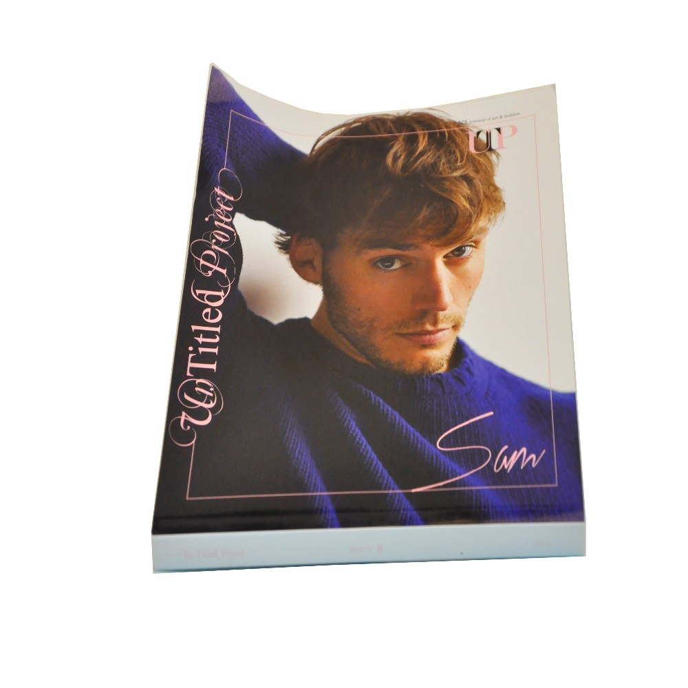 Full Color Magazine Printery High Quality Softback Magazine Bespoke Magazine