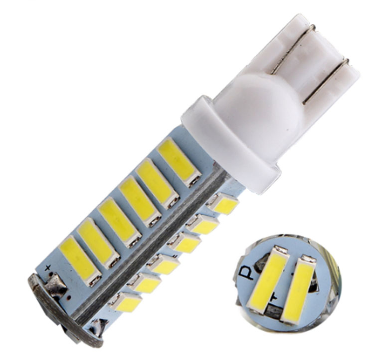 8W 700lm T10 7020 led chips 20SMD auto led light bulbs width lamp DC12V car front interior lamps