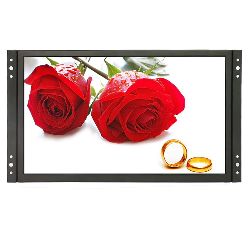 DC 12v industrial screen 24 hours working FHD 11.6 inch industrial grade IPS CCTV monitor