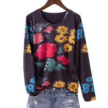 Модная женская футболка с принтом «Большая Бабочка», с круглым вырезом, с длинным рукавом, с графическим рисунком, базовая тонкая футболка, ...(China)
