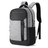 aspensport waterproof business mens bag large capacity travel casual daypack with luggage strap school laptop backpack