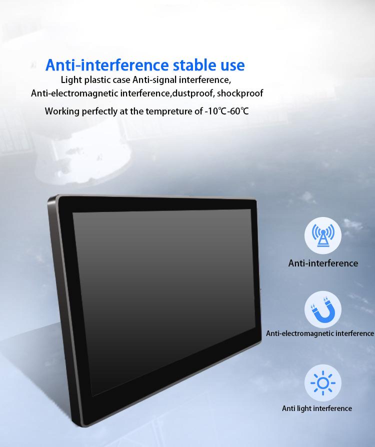 21.5 Inch Android 6.0 AIO Layar Sentuh PC dengan Warna Putih 1 GB + 8 GB Memory
