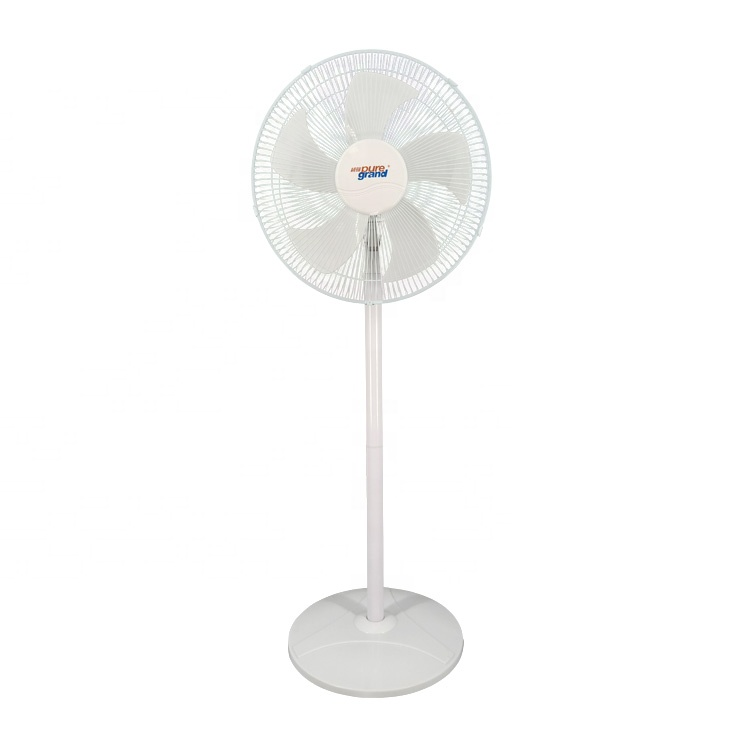 New style 5 blade pedestral super good chinese gym rollable 16 18inch batter stand fan