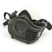 High Quality Dual-Use Silicone Rubber Half Face Respirator Chemical Military Dust Gas Mask