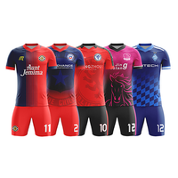 Cool Youth Team Wear soccer uniforms soccer jerseys sublimation printing custom football shirts