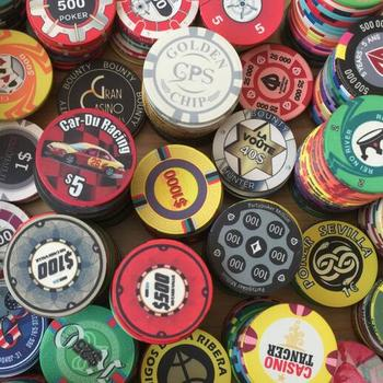 10.0gram Customized Professional Ceramic Poker Chips