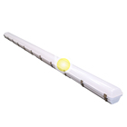 Led Light Emergency Microwave Sensor LED Triproof Light 2ft 4ft 8ft Emergency Led Triproof Light IP66 Plastic Garage Industrial LED Triproof Light