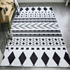 Home use and anti-slip feature customized carpet area rug