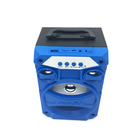 super bass powerful surround stereo wood mini wireless portable speakers