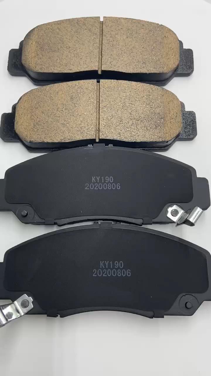 큰 도매 고품질 브레이크 패드 알렉스 세미 금속 브레이크 패드 HONDA ACURA OEM 45022-S9A-A00