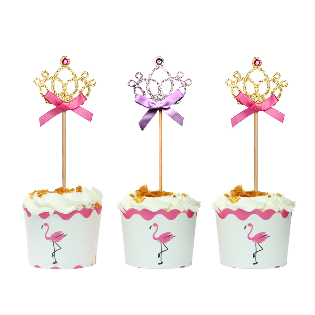Wholesale Funny Party Decorations Diamond Crown <strong>Cake</strong> Topper <strong>Cake</strong> <strong>Accessories</strong>