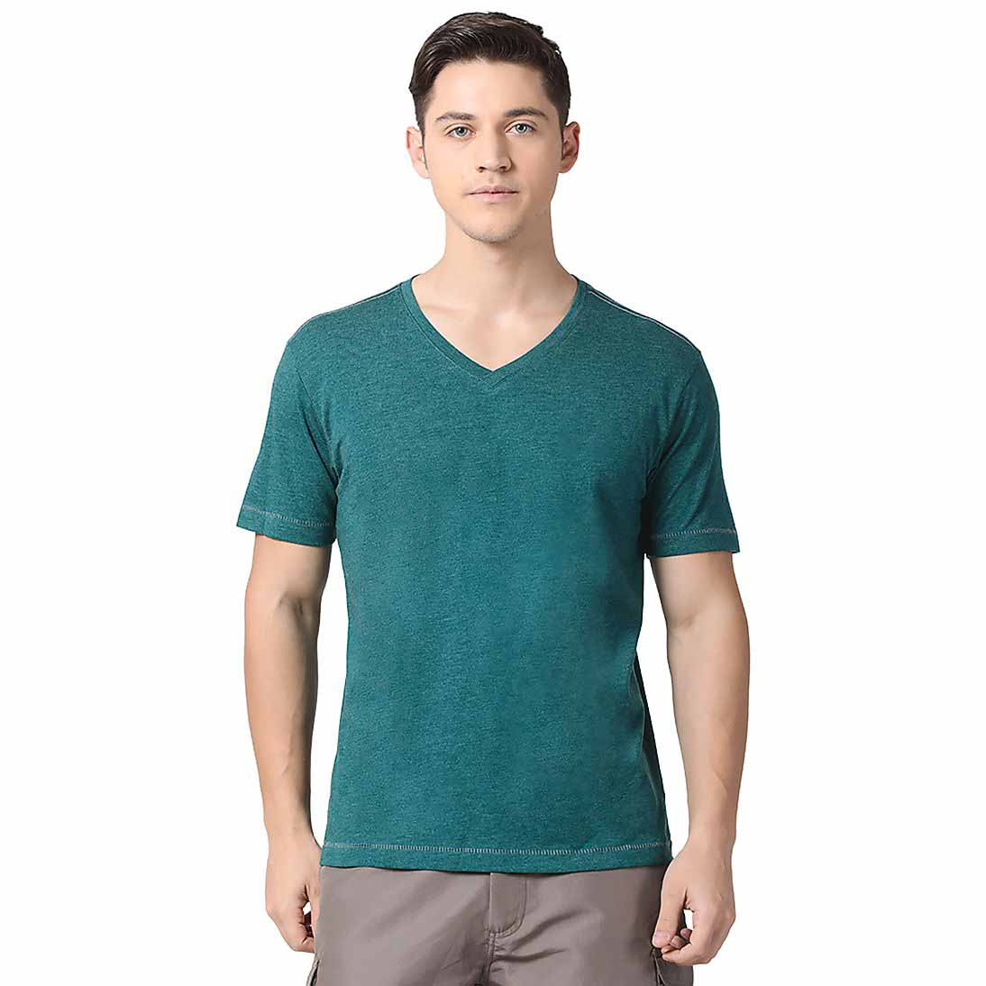 new products cotton fabric t-shirt with a cheap price
