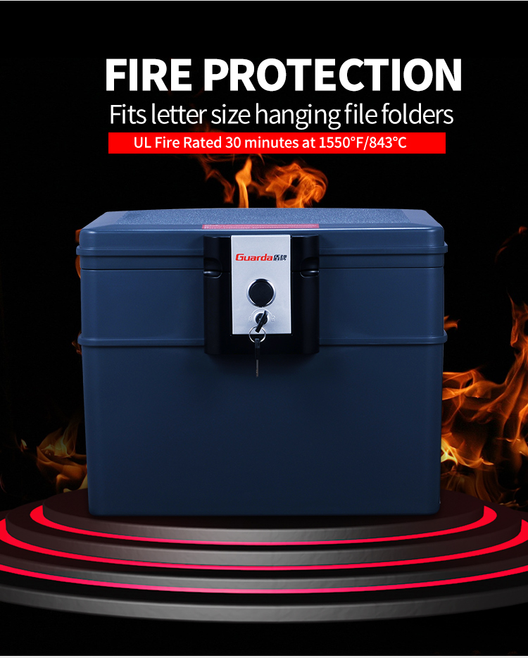 Guarda Best fireproof box for business for business-3