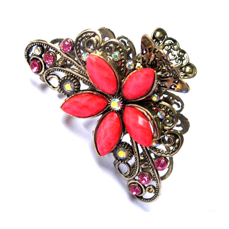 SAF South Korea hot style restoring ancient colorful  diamond flower women accessories hairbands