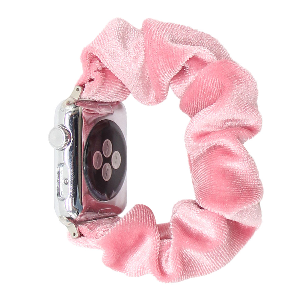 Wholesale plain scrunchie apple watch band box apple watch bands 42mm colors for apple watch band adapter for lady