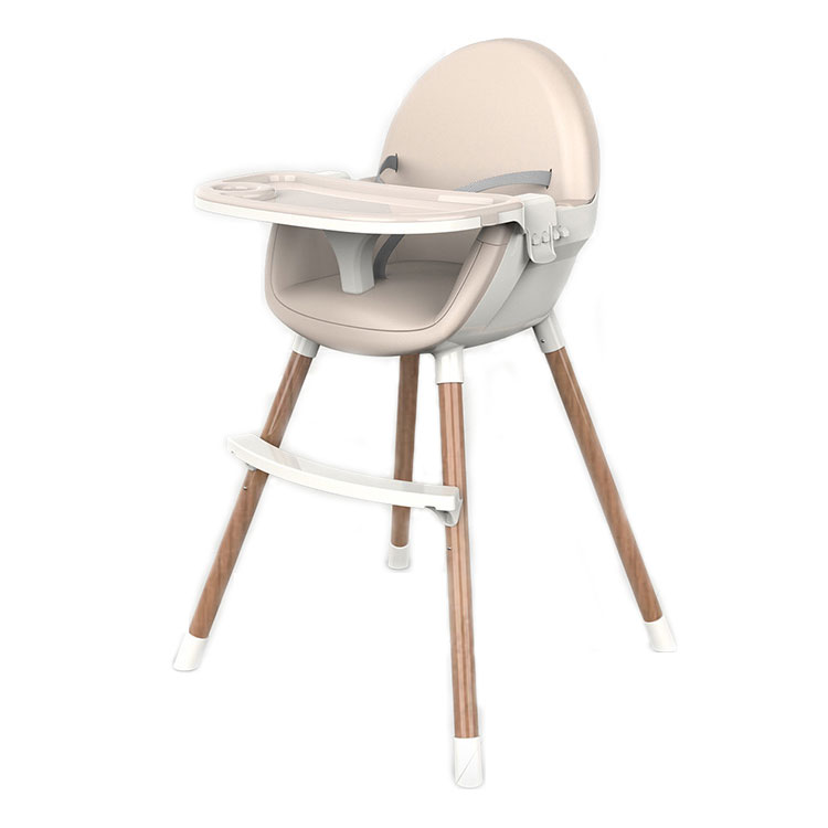 Children table seat dinner steel tube highchair feeding baby high chair
