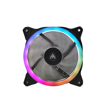 SATE low MOQ Factory Computer Case CPU Cooling Fan 12V Gaming PC Quiet LED RGB fan PC CPU High Airflow r fan for controller