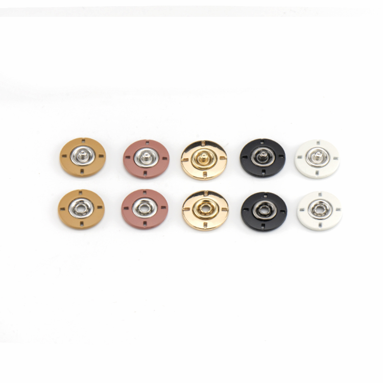 High quality Competitive price Two-part sew-on alloy snap button