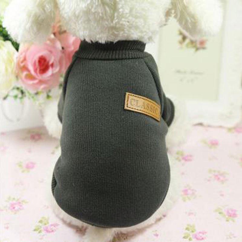 Pet джемпер для собаки, свитер, h0t26 Рождественская Одежда для животных