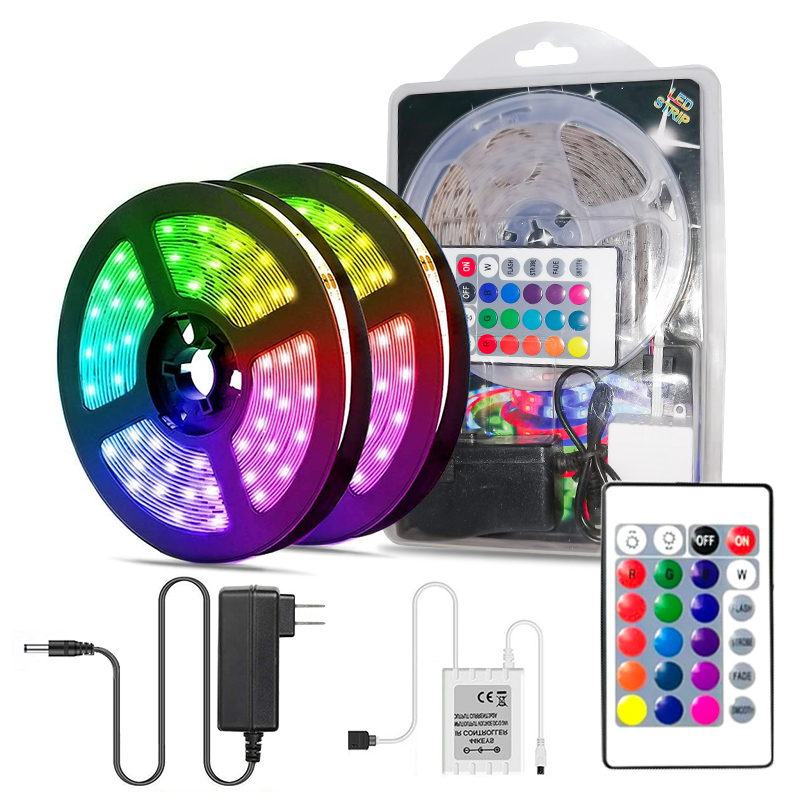 RGB flexible led strip light cheap price 2835 smd waterproof strip light kit china supplier neon remote control strip lamp