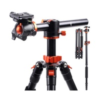 K&F Concept DSLR Camera Tripod 76.8 Inch Aluminum Alloy Travel Monopod with Ball Head for Digital Cameras
